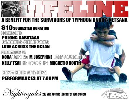 LIFELINE - TYPHOON RELIEF